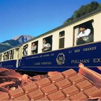 Alpine Classic Swiss Chocolate Train