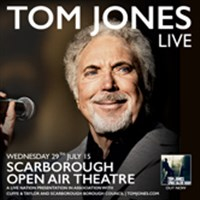 Tom Jones at Scarborough Open Air Theatre
