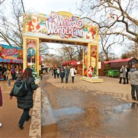 Winter Wonderland & London