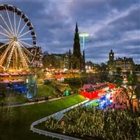 Edinburgh Lights and Christmas Shopping
