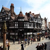 Bury Market and Chester