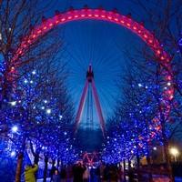 London Eye at Christmas & London Weekend