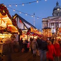 Nottingham Christmas & Bosworth Hall