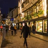 York and Leeds Christmas Shopping