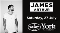 York Races with Live Music from James Arthur