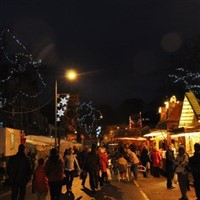 Skipton Christmas Market from York