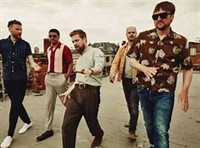 Doncaster Races with Kaiser Chiefs after races