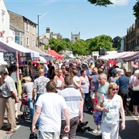 Skipton Market & Harrogate Valleys Gardens Park